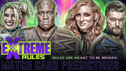 #WWEExtremeRules Prediction Show!! #ExtremeRules #WWE