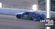 Joey Gase loses a tire, makes hard contact with wall at Las Vegas