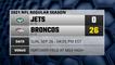 Jets @ Broncos Game Recap for SUN, SEP 26 - 04:05 PM EST