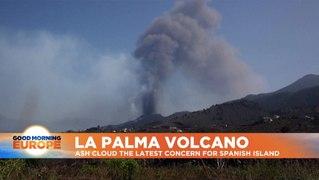 La Palma volcano: Lava topples church as eruptions continue