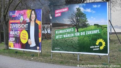 Germany's political kingmakers explore common economic ground