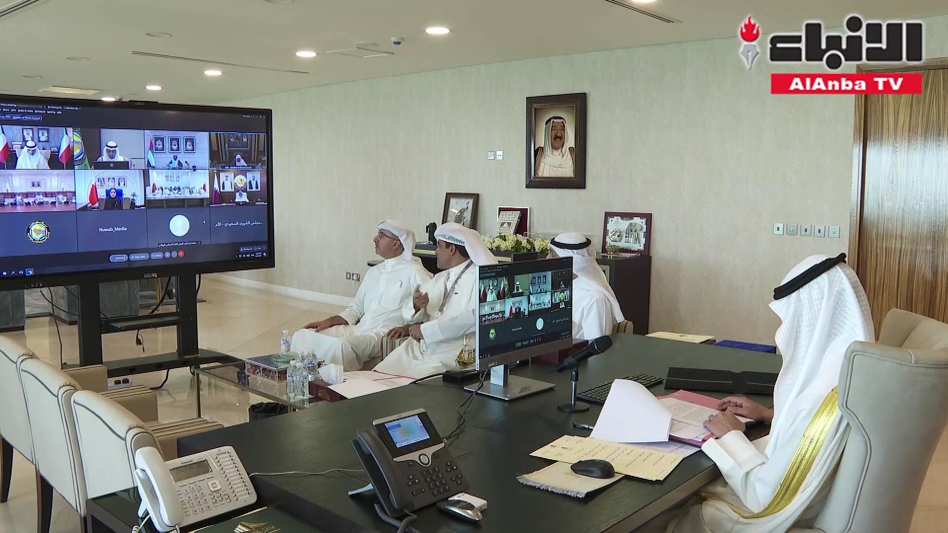 الغانم يشارك «عن بُعد» في اجتماع رؤساء المجالس التشريعية الخليجية