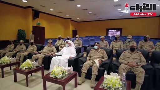 نائب رئيس مجلس الوزراء ووزير الدفاع الشيخ حمد جابر العلي تفقد قيادة الدفاع ضد أسلحة الدمار الشامل
