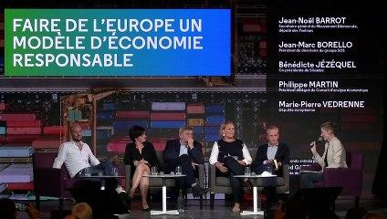 Faire de l'Europe un modèle d'économie responsable - UR2021
