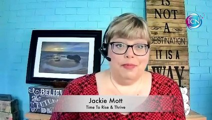 Inspired Choices Network - 5 Stages Of Starting Over ~ Stage 5 ~ Jackie Mott