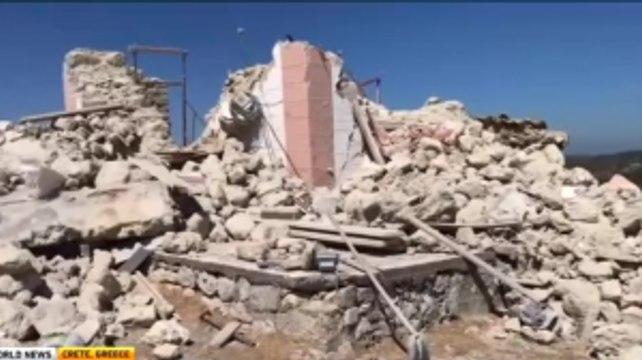 5.8 Magnitude Earthquake Hits Greece