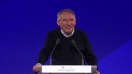 François Bayrou, discours d'ouverture - UR2021