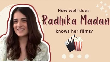 How Well Does Radhika Madan Knows Her Films? | Exclusive Interview | SpotboyE