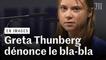Greta Thunberg dénonce le «bla-bla» sur la question du climat