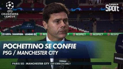 Mauricio Pochettino se confie avant PSG / Manchester City
