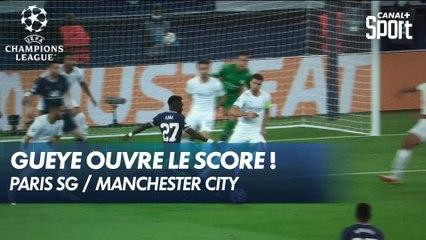 Idrissa Gueye ouvre le score ! Le Parc est en fusion ! - PSG / Man. City
