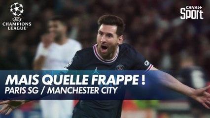 Le but incroyable de Lionel Messi pour le 2-0 ! - Paris-SG / Manchester City