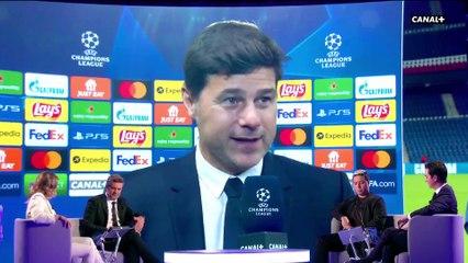 La réaction de Pochettino après la victoire parisienne - Paris SG / Man. City