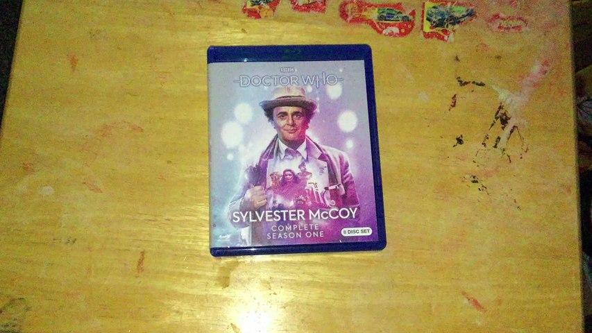 Doctor Who: Sylvester McCoy Season 1 (Season 24) Blu-Ray Unboxing