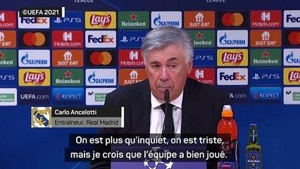 """Ancelotti : """"C'est difficile d'expliquer la défaite."""""""