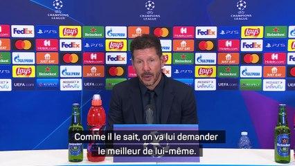 """Simeone : """"Très heureux pour Griezmann"""""""
