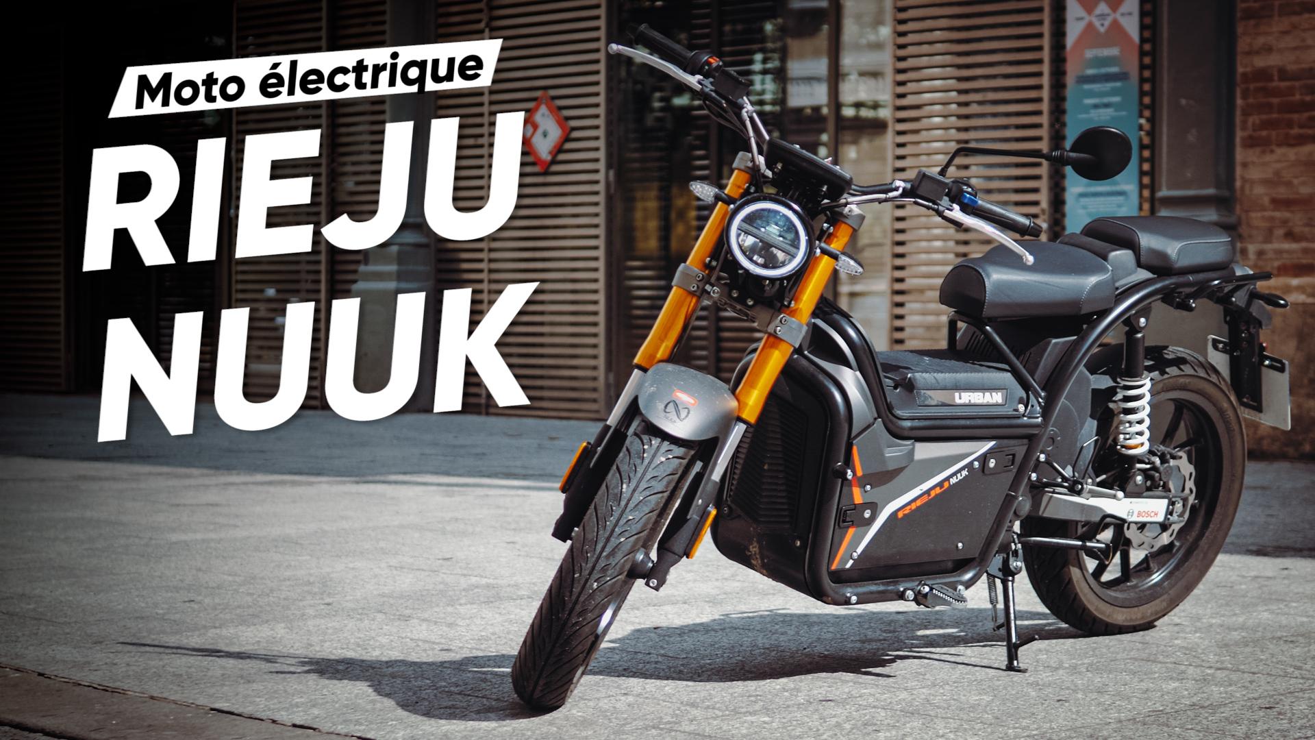 RIEJU Nuuk : on a testé la moto électrique frénétique au look vintage