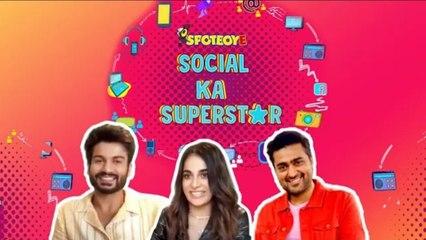 #SunnyKaushal & #RadhikaMadan Give #Shiddat Wale Tips To Impress Your Crush | Social Ka Superstar