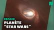 Une exoplanète orbitant autour de trois étoiles ? Des scientifiques l'ont peut être trouvée