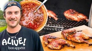 Brad Makes Fermented Tomato Smoked Chicken