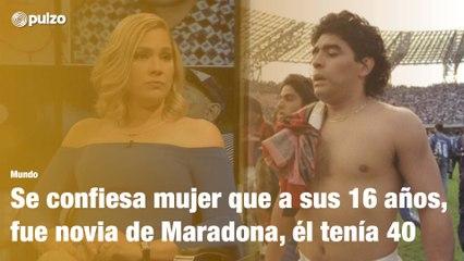 Diego Maradona y su relación con cubana menor de edad   Pulzo