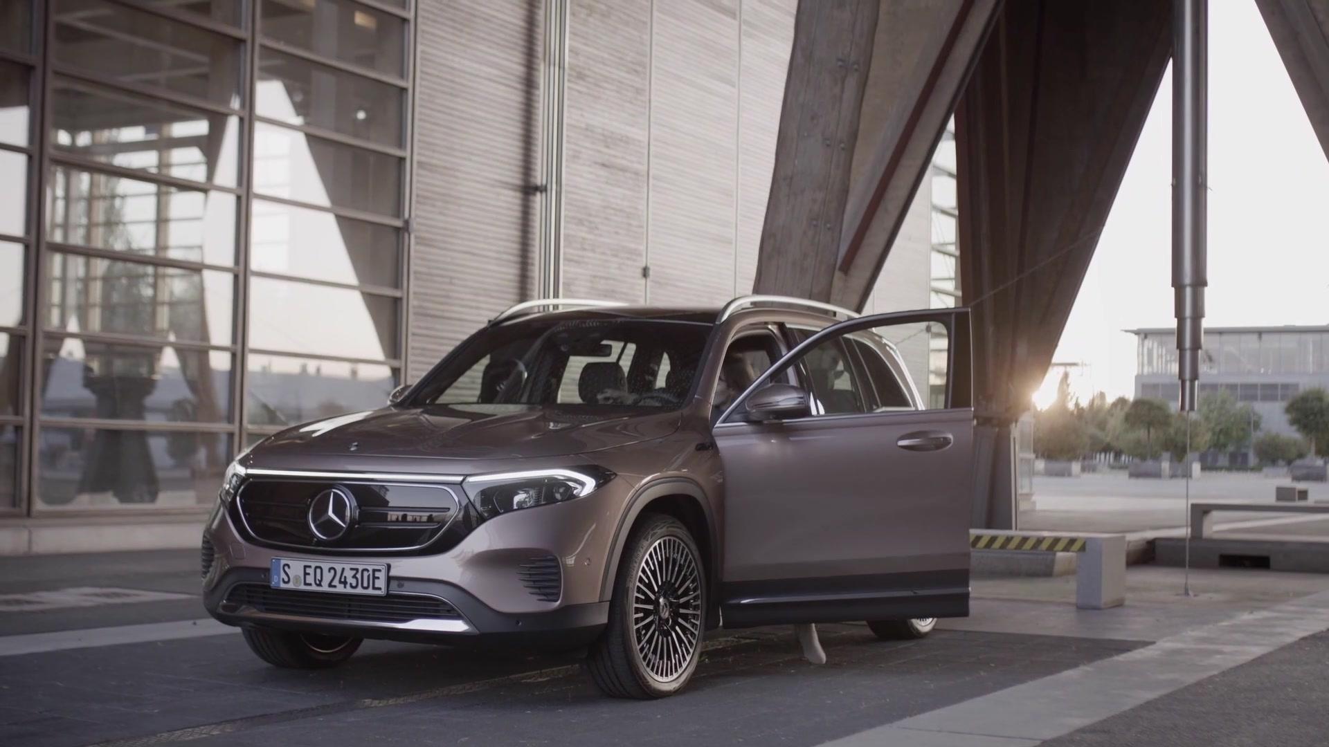 Der Mercedes-Benz EQB – Mercedes me Charge