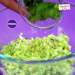 Croquettes de courgettes aux herbes et aux épices