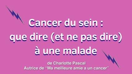 Comment aider un proche qui a un cancer