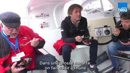 Du coq au vin à bord de Maître Coq IV au Grand Pavois de La Rochelle