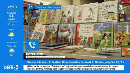 01/10/2021 - Le 6/9 de France Bleu Creuse en vidéo