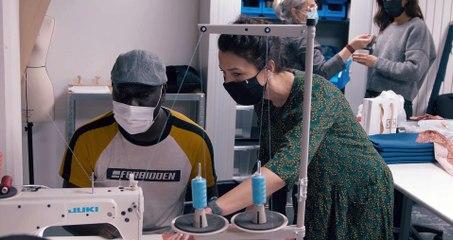 La Fabrique Nomade agit pour l'insertion professionnelle des artisans d'art réfugiés et des migrants régularisés en France