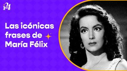 """""""Habiendo tantos hombres, ¿para qué llorar por uno?. Las icónicas frases de María Félix"""