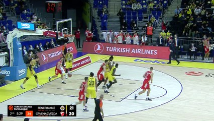 Fenerbahce holds on to beat Zvezda | Round 1, Highlights | Turkish Airlines EuroLeague