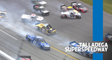 Multiple trucks collected in 'Big One' at Talladega