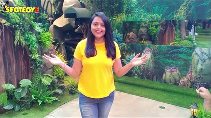 A sneak peek inside the jungle themed bigg boss 15 house, Experience jungle with khufiya darwaza