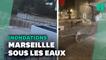 Météo: Les images des inondations à Marseille