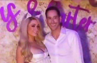 Paris Hilton y Carter Reum disfrutan de una despedida de solteros conjunta en Las Vegas