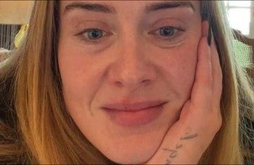 Adele está cortando a bebida antes de retorno musical