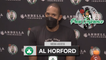 """Al Horford: """"This Place Is Special, ... I'm Just Happy To Be Back."""" 