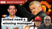 """""""Get Ole out, United need a winning manager to be title contenders"""" 