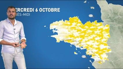 Illustration de l'actualité La météo de votre mercredi 6 octobre 2021