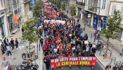 Manifestation : Marseille est dans la rue pour le 5 octobre
