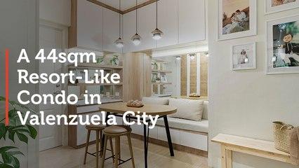 A 44sqm Resort Like Condo in Valenzuela City