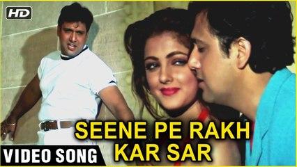 Seene Pe Rakh Kar Sar | Video Song (HD) | Naseeb 1997 | Govinda & Mamta Kulkarni | Udit Narayan Hits