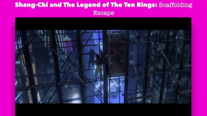 Shang-Chi and the Legend of the Ten Rings: Scaffolding Escape