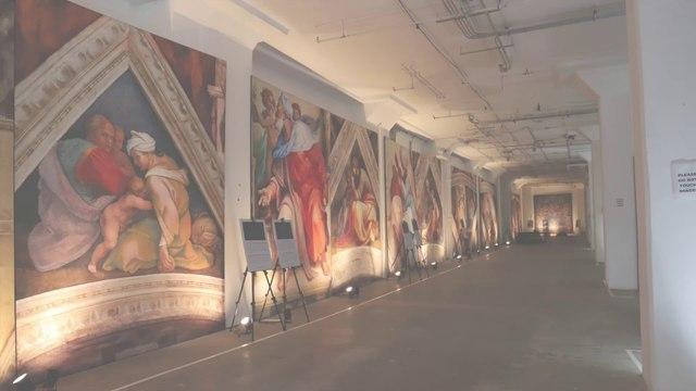 システィーナ礼拝堂の天井画がニューヨークに!!展覧会がスタート