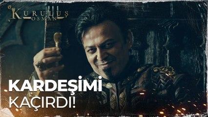 Turgut Alp'in kardeşini kaçırdığını öğrendi - Kuruluş Osman 65. Bölüm