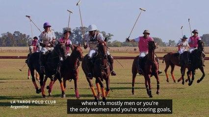 The Black Equestrian (captioned) by Sheila Kayuma