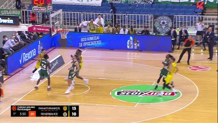 Panathinaikos completes thrilling comeback! | Round 2, Highlights | Turkish Airlines EuroLeague
