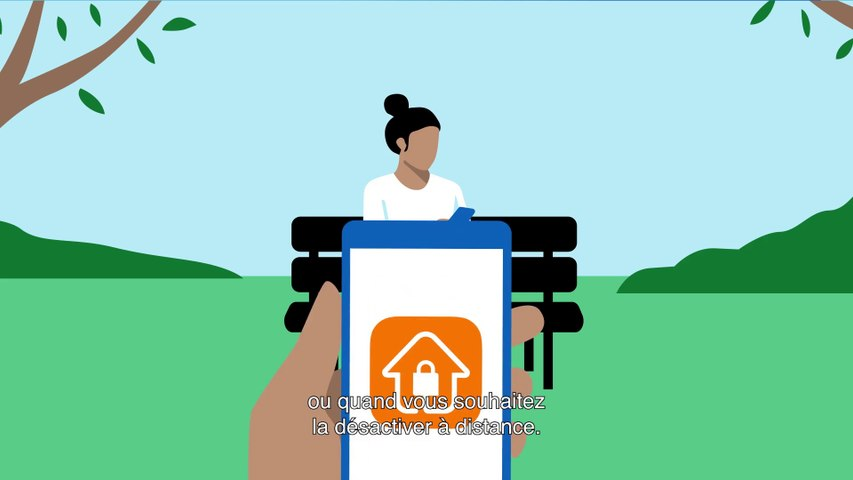 Maison Protégée - Usage au quotidien - Orange